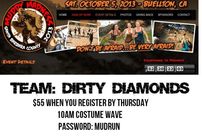 Dirty Diamonds Muddy Madness