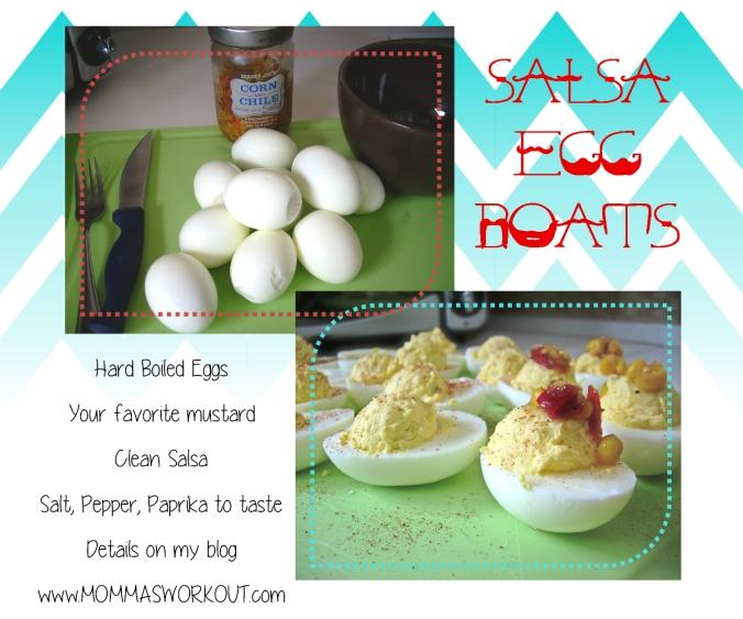 salsa egg boats