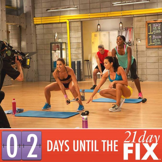 21 day fix 2 days until