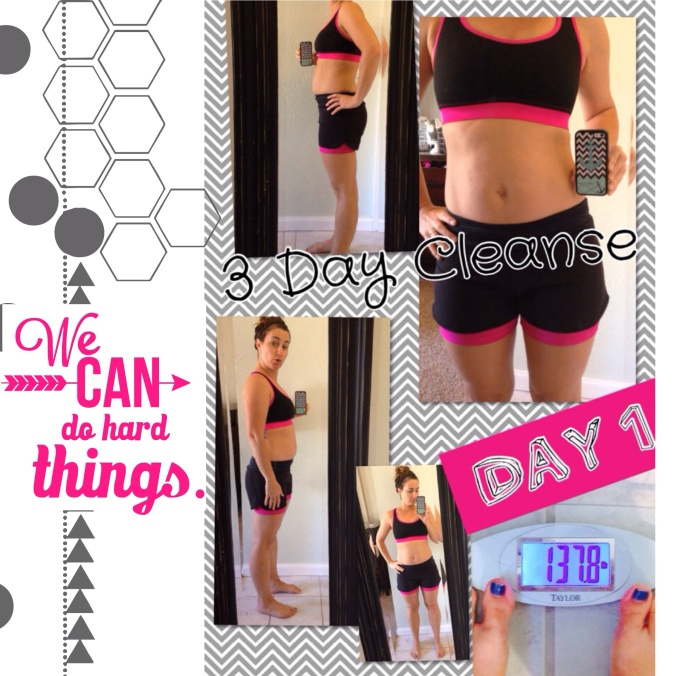 3 day Shakeology Cleanse -- DAY 1
