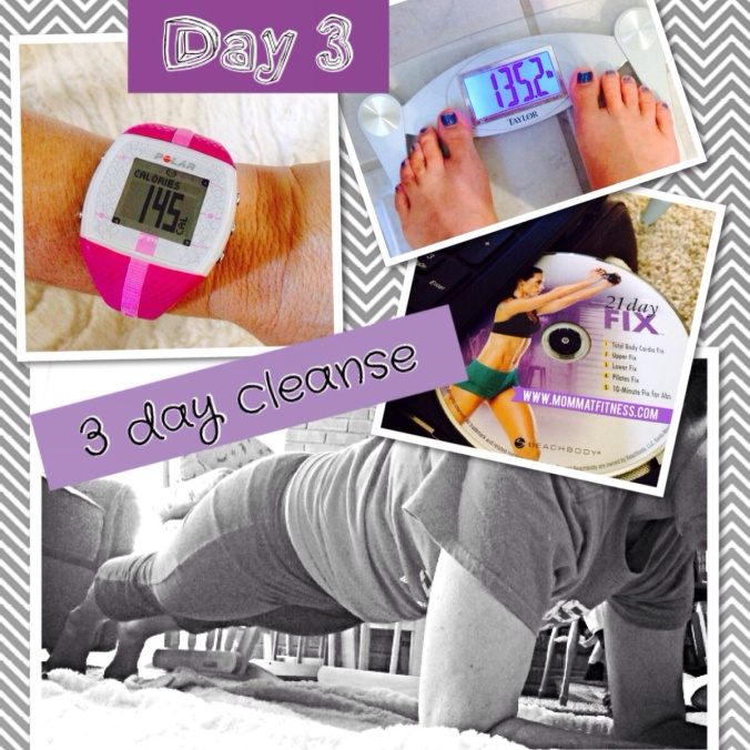 3 Day Shakeology Cleanse - Day 3