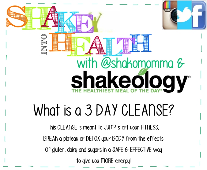 what is 3 day cleanse