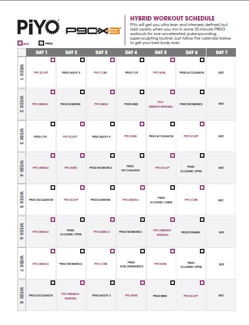 piyo-P90x3 calendar JPG