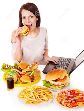 woman-eating-junk-food-24459278