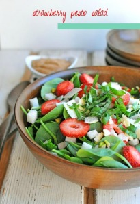strawberry pesto recipe salad