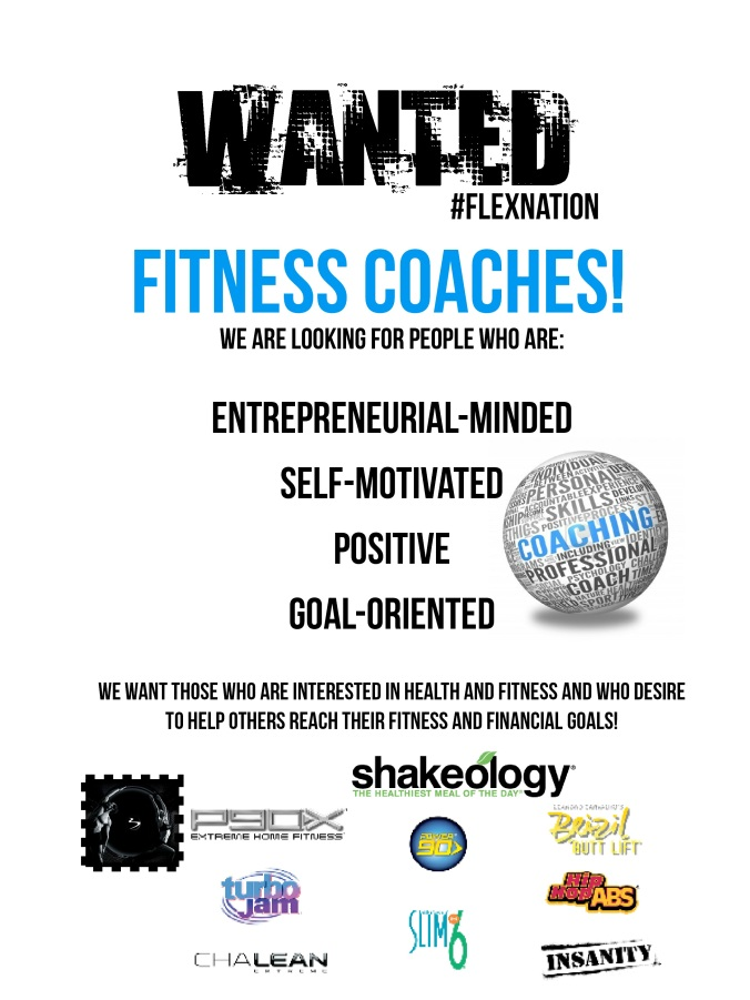 WANTED COACHES FITNESS 2