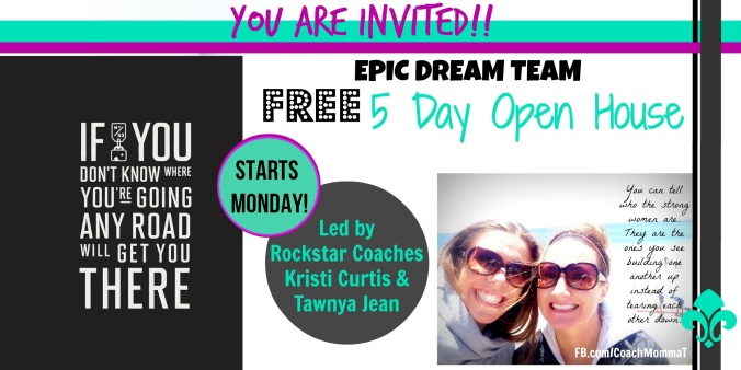 BB open house invite epicdreamteam