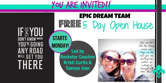 BB open house invite epicdreamteam
